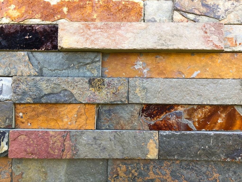Decorative bricks at Art Omi.