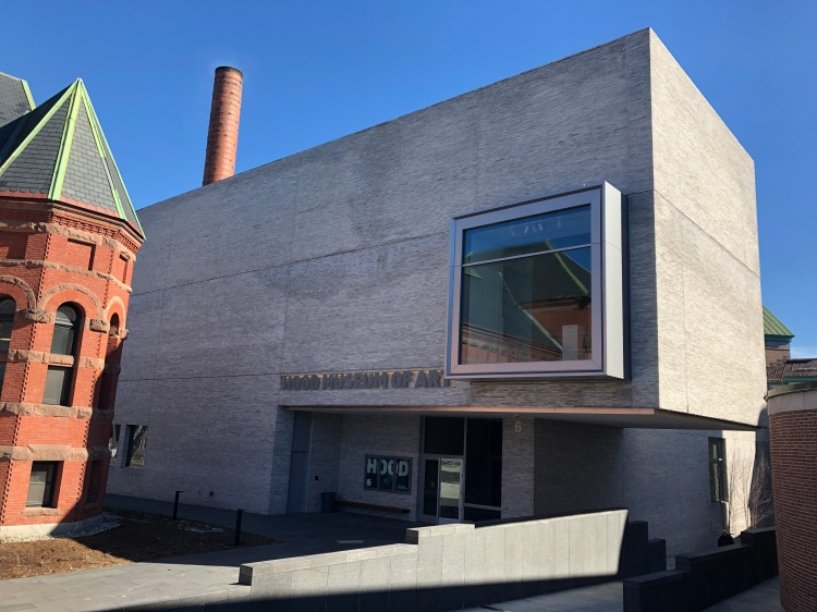 2019 renovation of the Hood Art Museum, Dartmouth College.