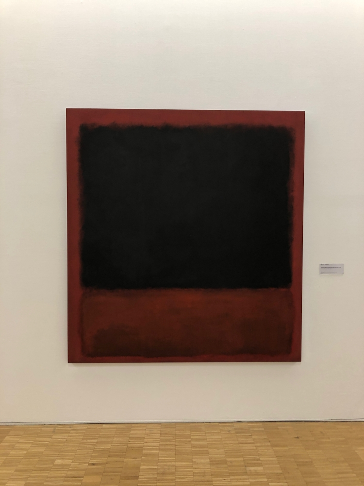Untitled painting by Mark Rothko