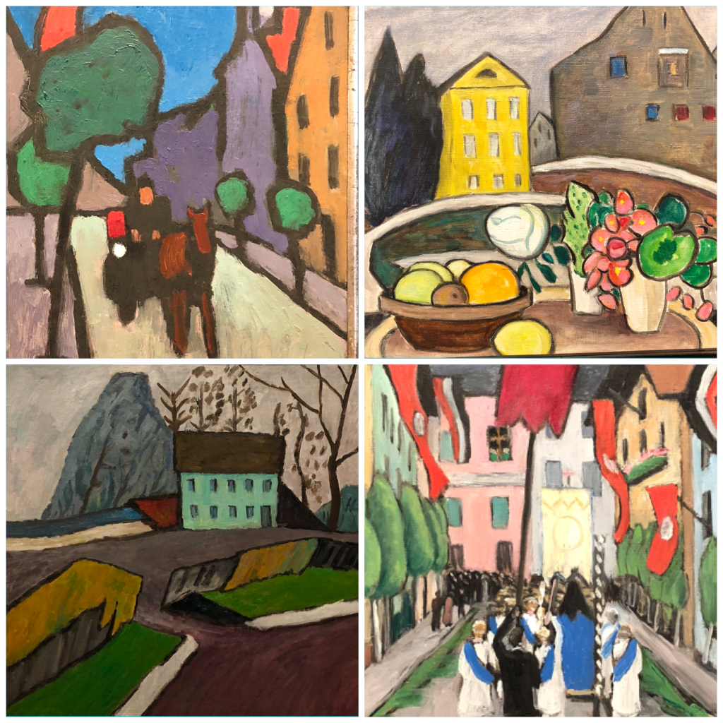 Additional paintings by Gabrielle Münter.
